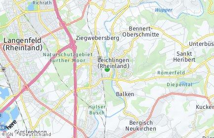 Stadtplan Leichlingen (Rheinland)