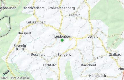 Stadtplan Leidenborn