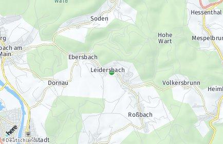 Stadtplan Leidersbach