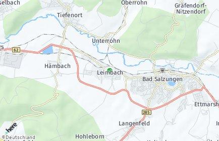 Stadtplan Leimbach (Wartburgkreis)