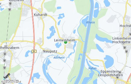 Stadtplan Leimersheim
