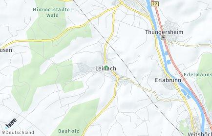 Stadtplan Leinach