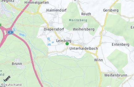 Stadtplan Leinburg