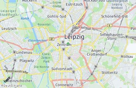 Stadtplan Leipzig
