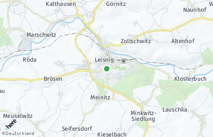Stadtplan Leisnig