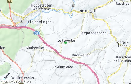Stadtplan Leitzweiler