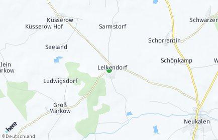 Stadtplan Lelkendorf