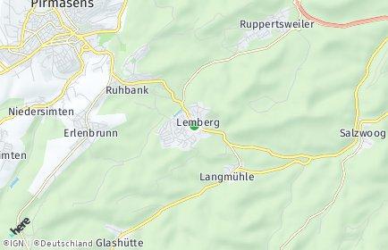 Stadtplan Lemberg
