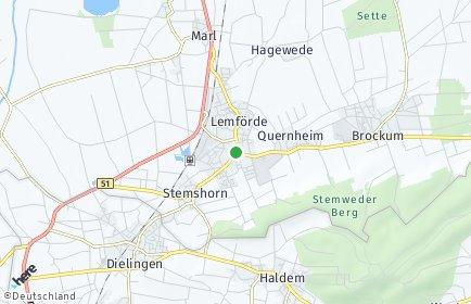 Stadtplan Lemförde