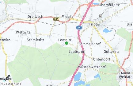 Stadtplan Lemnitz