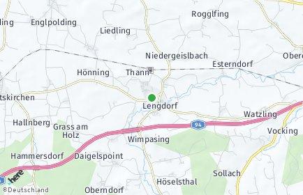 Stadtplan Lengdorf