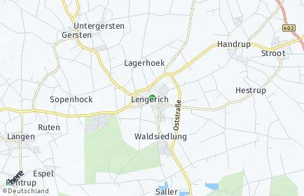 Stadtplan Lengerich (Emsland)