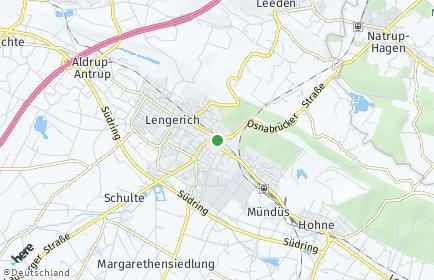 Stadtplan Lengerich (Westfalen)