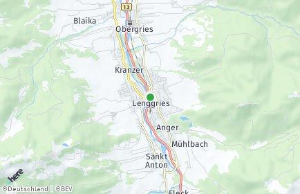 Stadtplan Lenggries