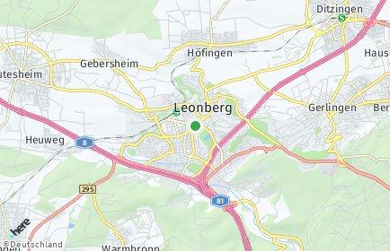 Stadtplan Leonberg (Württemberg)