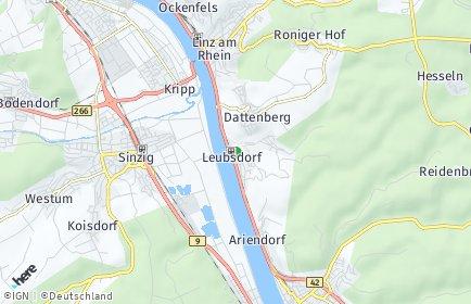 Stadtplan Leubsdorf (am Rhein)
