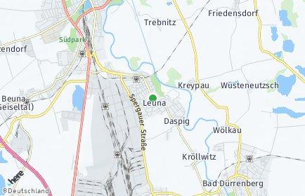 Stadtplan Leuna