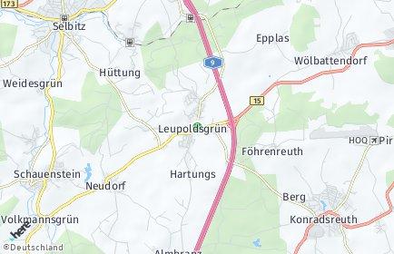 Stadtplan Leupoldsgrün