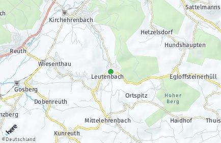 Stadtplan Leutenbach (Oberfranken)