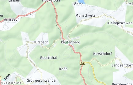 Stadtplan Leutenberg