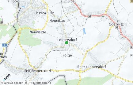 Stadtplan Leutersdorf (Sachsen)