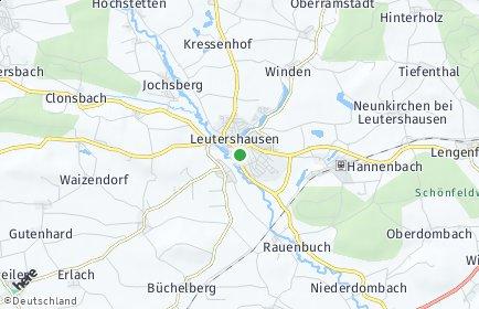 Stadtplan Leutershausen