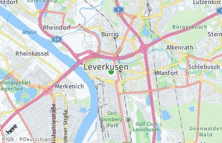 Stadtplan Leverkusen