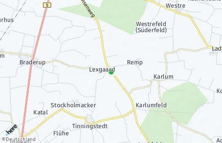Stadtplan Lexgaard