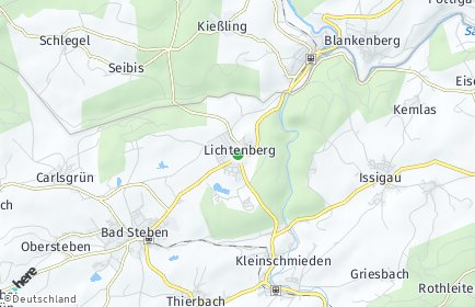 Stadtplan Lichtenberg (Oberfranken)