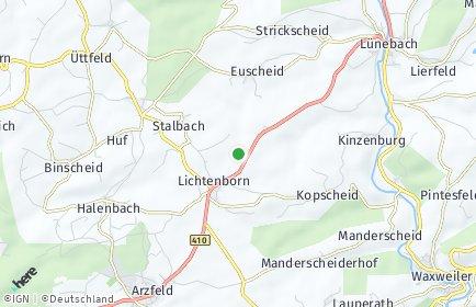 Stadtplan Lichtenborn