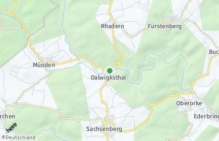 Stadtplan Lichtenfels (Hessen)