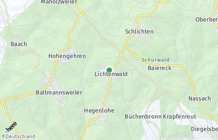 Stadtplan Lichtenwald