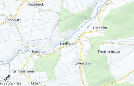 Stadtplan Liebenau