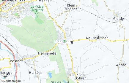 Stadtplan Liebenburg