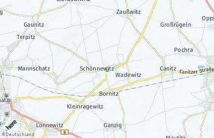 Stadtplan Liebschützberg