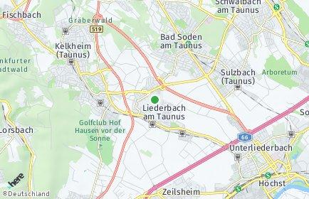Stadtplan Liederbach am Taunus