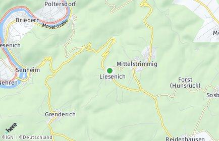 Stadtplan Liesenich