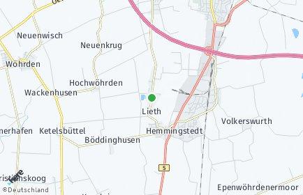 Stadtplan Lieth