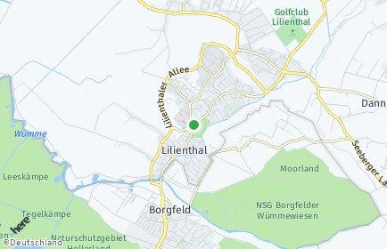 Stadtplan Lilienthal
