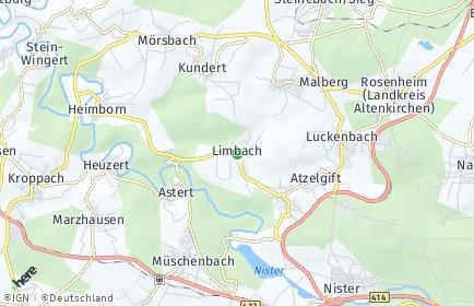 Stadtplan Limbach (Westerwald)