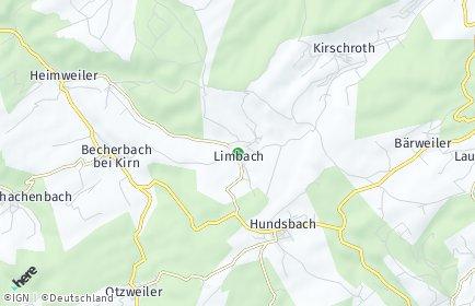 Stadtplan Limbach bei Kirn