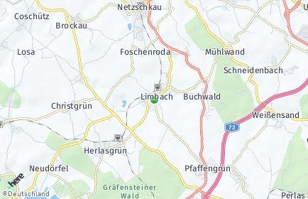 Stadtplan Limbach (Vogtland)