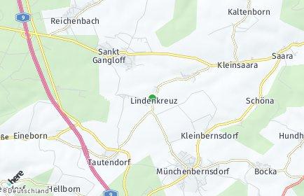 Stadtplan Lindenkreuz