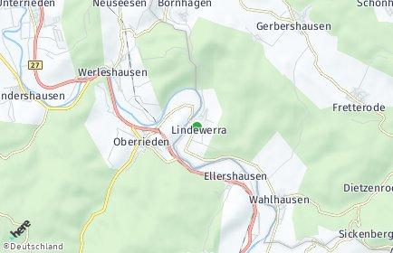 Stadtplan Lindewerra