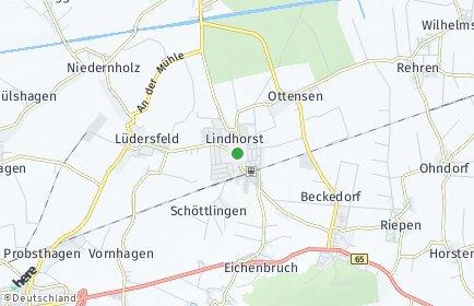 Stadtplan Lindhorst