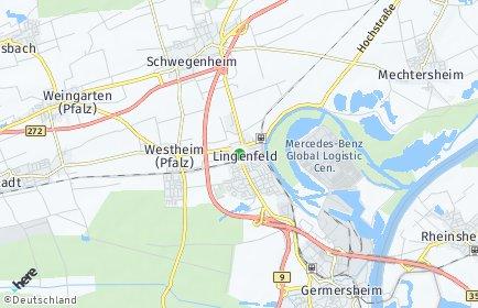 Stadtplan Lingenfeld