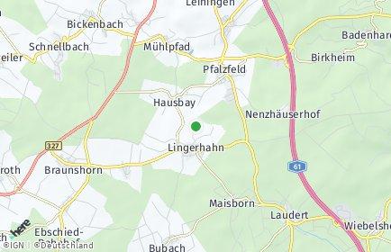 Stadtplan Lingerhahn