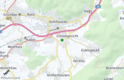Stadtplan Linsengericht