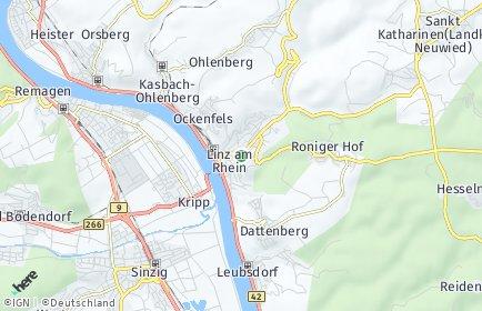 Stadtplan Linz am Rhein