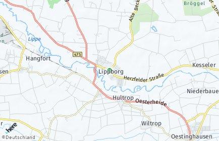 Stadtplan Lippetal
